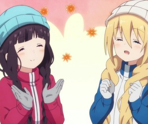 anime, friends, and blend s image