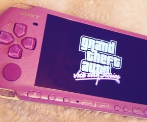 grand theft auto, gta, and psp image