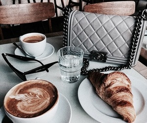 food, coffee, and vogue image