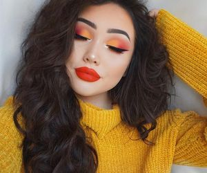 autumn, cosmetics, and makeup image