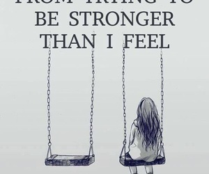 quotes, sad, and strong image