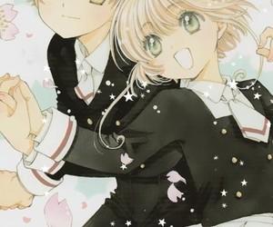 anime, infancia, and sakura kinomoto image