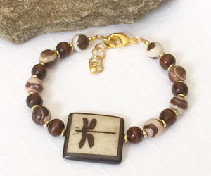etsy, statement bracelet, and gift for her image