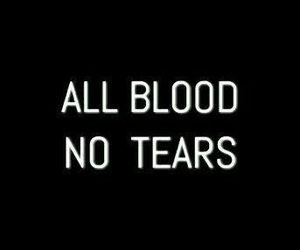 blood, quotes, and tears image