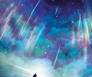 sky, art, and blue image