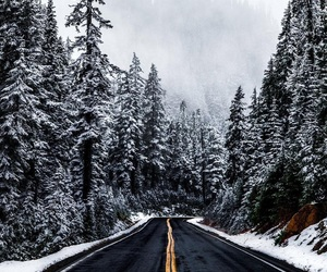 adventure, winter, and Road Trip image