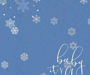 baby, background, and winter image