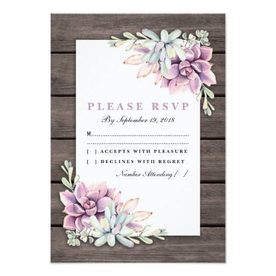 succulent, wedding, and card image