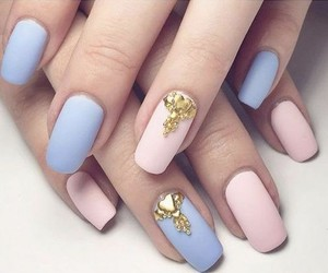 nail art, nails, and decoradas image