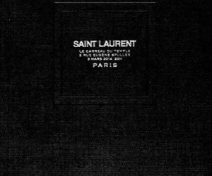 black and white, saint laurent, and fashion image