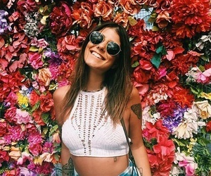 flowers, summer, and bright image