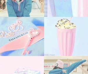 aesthetic, pastel, and blue image