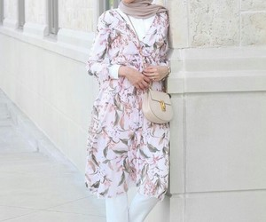 hijab, style, and zzazzz image