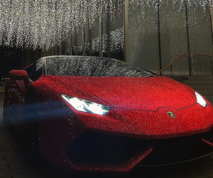 Lamborghini, car, and red image