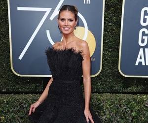 fashion, heidi klum, and red carpet image