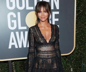 golden globes, Halle Berry, and fashion image