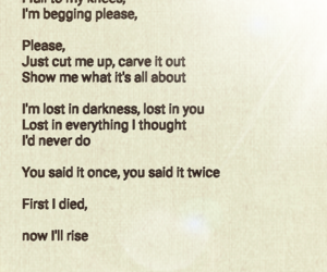 heartbreak, poem, and rise image