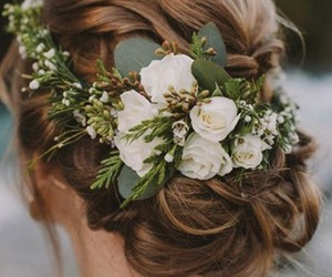 hairstyles, wedding, and wedding hairstyles image