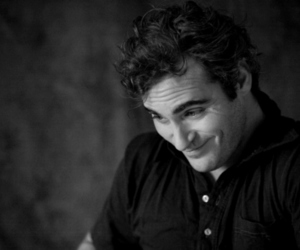 actor, black and white, and joaquin phoenix image