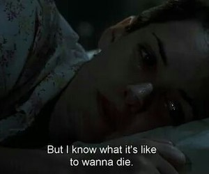 depression, girl, and movie image