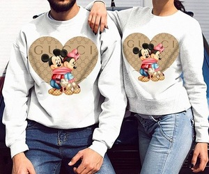 fashion, gucci, and mickey image
