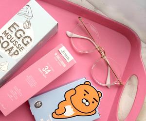 pink, korean, and cute image
