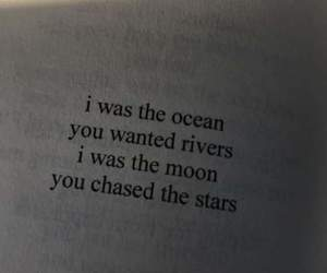 quotes, moon, and book image