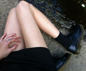 grunge, pale, and legs image