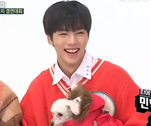 asian boy, icon, and puppy image