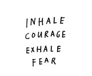 courage, fear, and quotes image