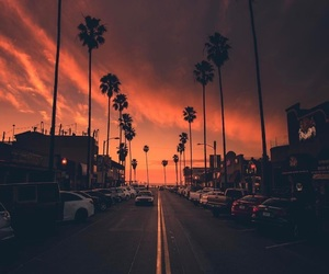 sunset, sky, and photography image
