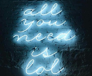 blue, light, and quotes image