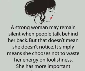 qoute, strong, and girlpower image