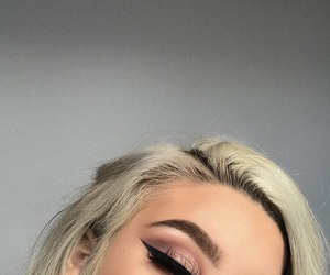 beauty, eyeliner, and makeup image
