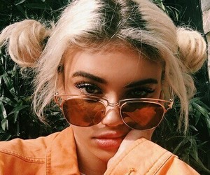 girl, orange, and tumblr image