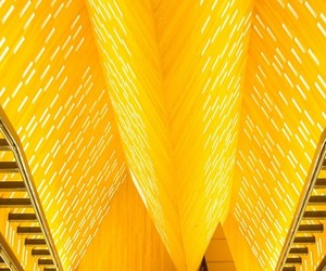 ceiling and yellow image