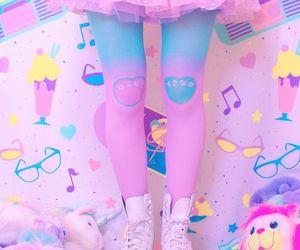 pink, pastel, and kawaii image