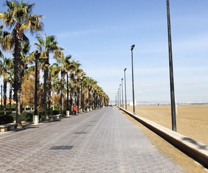 beach, lifestyle, and spain image