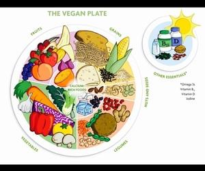 health, healthy, and vegan image