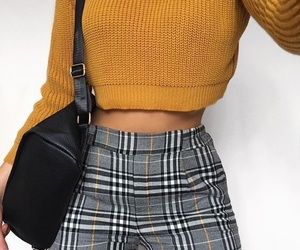apparel, yellow, and fashion image