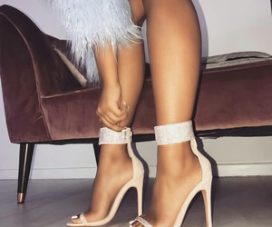 heels fashion, perfect style, and girly inspo image