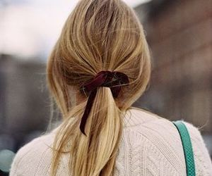 bow, hairstyle, and bow hair image