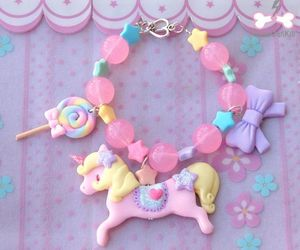 jewelry, unicorn, and cute image