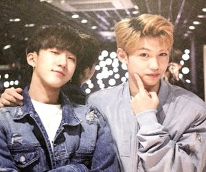 JYP, k-pop, and stray kids image