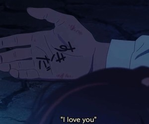 anime, japan, and night image