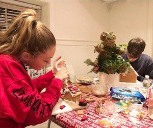 christmas, family, and home image