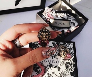 chanel, diamonds, and gucci image