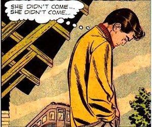 comic and sad image