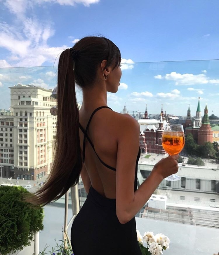 drink, brunette, and hair image