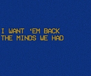 blue, header, and Lyrics image
